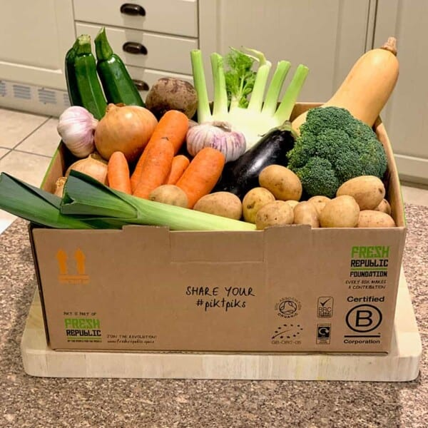 organic fruit and veg delivery