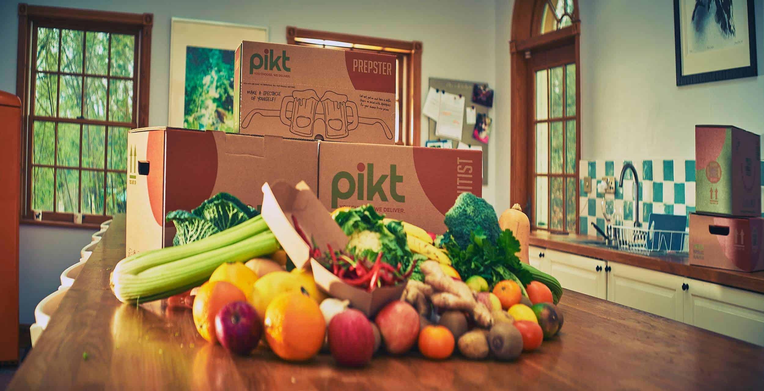 organic fresh ingredient box