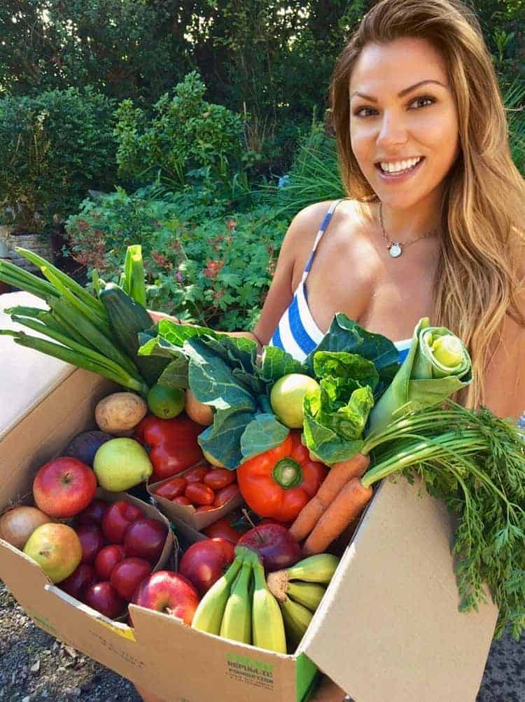 organic fresh ingredients delivery London